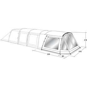 Outwell Flagstaff 6A Front Awning